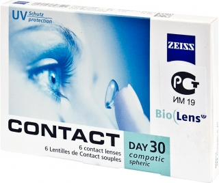 Контактные линзы Contact day 30 Compatic Bio