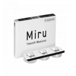 Контактные линзы Miru 1 Month Menicon Тоric (3шт)