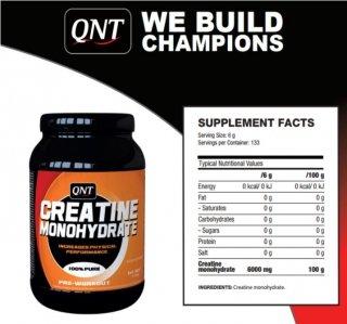 Креатин QNT Creatine Monohydrate 800гр