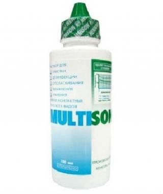 Раствор для линз MULTISON 375мл