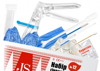 Набор гинекологический JS №12 для цитологии полный (S)