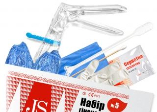 Набор гинекологический JS №5