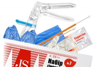 Набор гинекологический JS №7