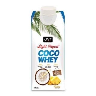 Напиток QNT Light Digest Coco Whey 330мл