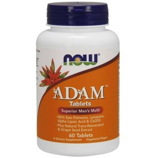 NOW Adam Male Multi 60 таблеток