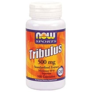 NOW Tribulus 500мг 45% 100 капсул