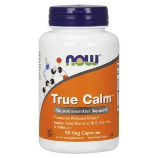 NOW True Calm Amino Relaxer 90 капсул