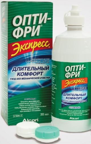 Раствор для линз OPTI-FREE EXPRESS 355мл