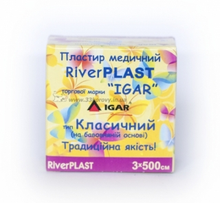 Пластырь RiverPLAST Классический 1х500см