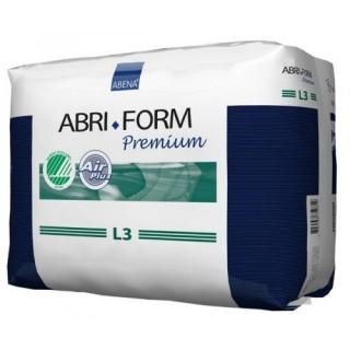 Подгузники для взрослых ABRI-FORM L3 100-150см, 3400мл, 20шт