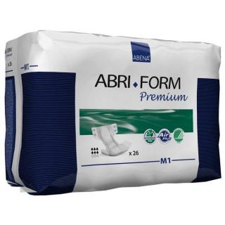 Подгузники для взрослых ABRI-FORM M1 2000 мл, 70-110 см, 26 шт