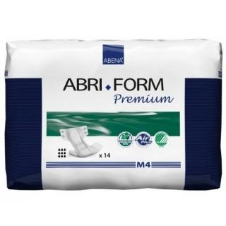 Подгузники для взрослых ABRI-FORM M4 70-110 см, 3600 мл, 14 шт