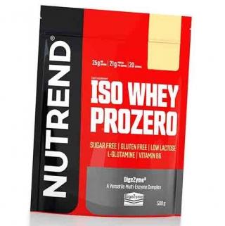 Протеин NUTREND Iso Whey Prozero 500г