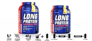 Протеин NUTREND Long Protein 2,2кг