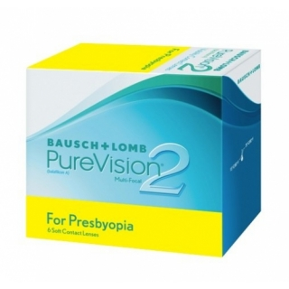 Контактные линзы PURE VISION 2 MULTI-FOCAL (3шт)
