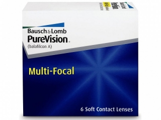 Контактные линзы PURE VISION MULTI-FOCAL (Сняты с пр-ва)