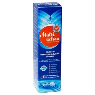 Раствор для линз Multi Action 350 ml