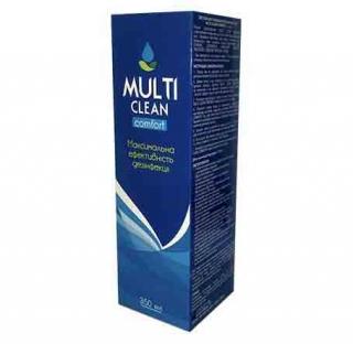 Раствор для линз Multi Clean Comfort 120мл