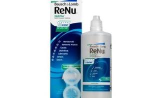 Раствор для линз RENU MULTIPLUS 120мл