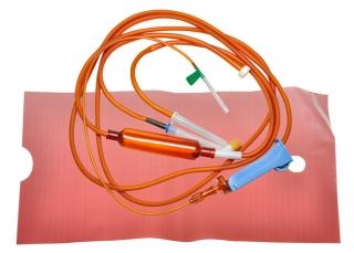 Система переливания инфузионных растворов для светочувствительных препаратов