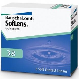 Контактные линзы SOFLENS 38 (6шт)