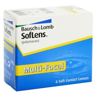 Контактные линзы SOFLENS MULTI-FOCAL (6шт)