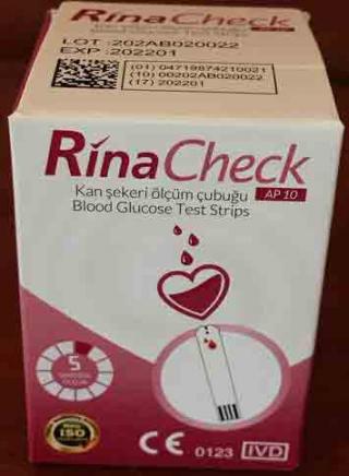 Тест-полоски RinaCheck (РинаЧек) - 50 шт