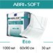 Одноразовые пеленки при недержании ABRI-SOFT Eco 1000мл, 60х90см, 30шт