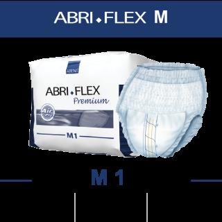 Трусики-подгузники для взрослых (м/ж) ABRI-FLEX M 1500мл, 80-110см, 14шт