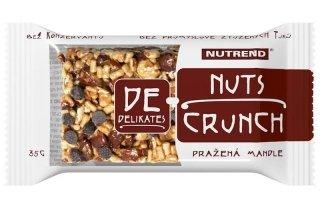 Углеводный батончик NUTREND De-Nuts Crunch