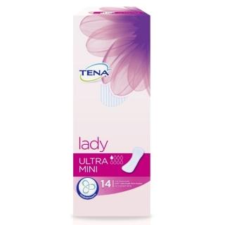Урологические прокладки для женщин TENA Lady Ultra Mini, короб