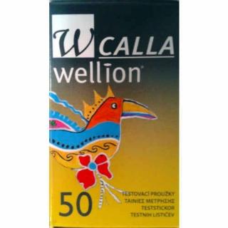 Тест-полоски Wellion (Веллион) CALLA №50