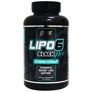 Жиросжигатель NR Lipo-6 Black Hers 120 капсул