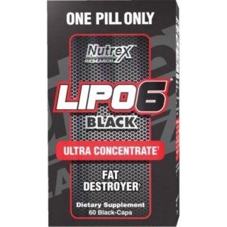 Жиросжигатель NR Lipo-6 Black Ultra Concentrate 30 капсул