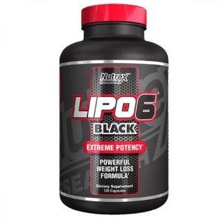 Жиросжигатель NR Lipo-6 Black 120 капсул