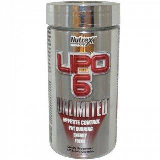 Жиросжигатель NR Lipo-6 Unlimited 120 капсул