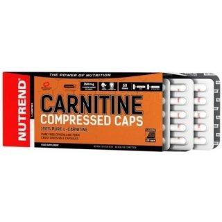 Жиросжигатель NUTREND Carnitine Compressed caps 120 капсул