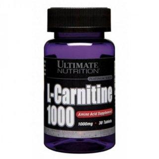 Жиросжигатель UltN L-Carnitine 1000 30 таблеток